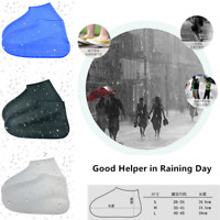Reusable Rain Snow Shoe Covers Waterproof Overshoes Boot Gear Anti-Slip Foldable