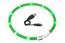 Karlie Visio Light LED Schlauchhalsband Leuchthalsband - grün