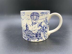 """Tiffany & Co.  """"New York Toile"""" collectible mug"""