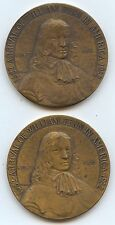 So-Called 1932 William Penn (#6960). Two Pcs. Both with Very Light Cleaning. Car