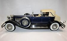 Vintage JIM BEAM Handcrafted Porcelain '34 Duesenberg Model J Car Decanter EMPTY