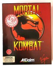 Mortal Kombat : Amiga : Commodore Amiga : Akklaim : Virgin