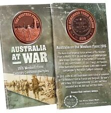 Australia on the Western Front 1916 Commemorative Penny *ANZAC Day *NEW 2016