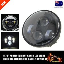 """5.75 inch 5-3/4"""" projector 40W Round LED Headlight Motorcycle Light for Harley"""