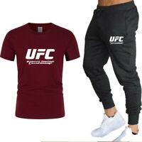 Conjunto Pantalones Chándal+Camiseta UFC, entrenamiento o casual. OFERTA!