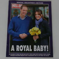 A Royal Baby Hello Special Magazine Prince William And Kate