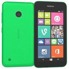 Teléfonos móviles libres verde de cuatro núcleos