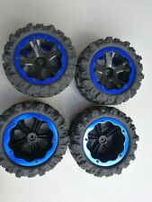 4 PCS Wheel Rim & Tires Remo Hobby 1:10 1:8 Monster truck RC Car 12mm Hub P3978