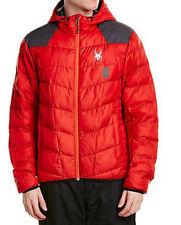 Spyder Men's Geared Hoody Synthetic Down Jacket Size M