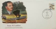 L) 1979 Usa, Isaac M. Laddon, Airplane, Orville And Wilbur Wright Aviation Pione