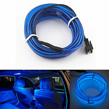 Blue Panel Gap Interior Trim Light Cold EL Neon Lamp Atmosphere Glow OLED Strip