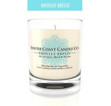 Ocean Spray Basil & Thyme 45 hour Scented Soy Glass Housed Jar Candle