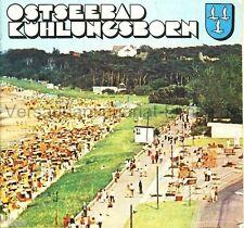 Ostseebad Kühlungsborn Mecklenburg Vorpommern Prospekt DDR 1975