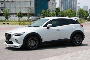 For Mazda CX3 2015-19 Window Visor Sun Rain Guard Weather Shield Deflector 4PCS.