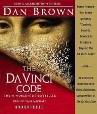 The Da Vinci Code (14 Cd Set) Dan Brown Audiobook Davinci