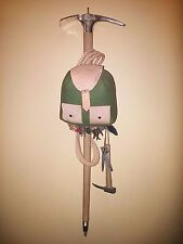Mountaineers Decorative Wall Hanging - Rope, large pic, axe, backpack, etc Italy