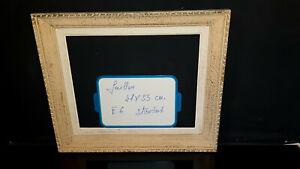 Cadre Montparnasse Ancien 41 x 33 6F pour tableau peinture ref 116