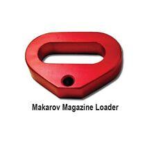 Makarov PM, IJ-70,  Magazine Loader Loading tool anodized aluminum