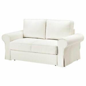 Ikea cover set for Backabro 2-Seater Sofa Bed in Hylte White  003.234.01