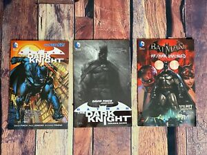 BATMAN Graphic Novel LOT of 3 Arkham Unhinged Knight Terrors Golden Dawn DC