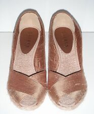 Ralph Lauren Cecilia Gold Shantung  Shoes sz 5.5 NO BOX