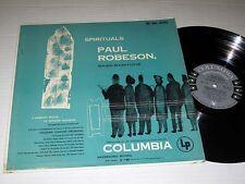 PAUL ROBESON Spirituals COLUMBIA Mono