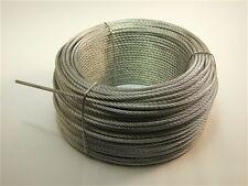 FUNE ACCIAIO a 222 fili diametro 10 mm. in matassa da 100 mt.
