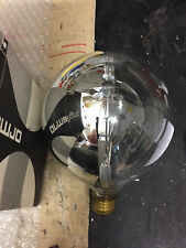 ormalight Globo G120 E27 seitenverspiegelt PLATA 60w G125 Bombilla zijspiegel
