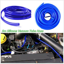 4mm Blue 16.4ft/5M Lenght Car Off-Road Silicone Vacuum Tube Hose Silicone Tubing