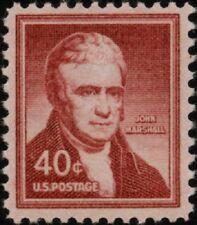 1958 40c John Marshall, United States Chief Justice Scott 1050 Mint F/VF NH