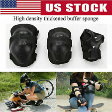 7Pc/Set Kids Teens Elbow Knee Wrist Protective Guard Safety Gear Pads Children