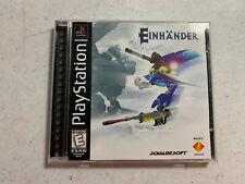 Einhander - PS1 PLAYSTATION *Original Case & Instructions ONLY No Disc!*