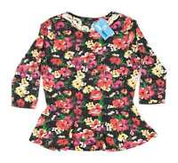 George Multi-Coloured Floral Womens Top Size 14 (Regular)