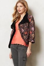 New Anthropologie embroidered Anju Jacket by Tolani Sz S