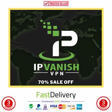 IP Vanish VPN Premuim- Account 3 YEARS Warranty NOT SHARED VPN 3 devices + GIFT