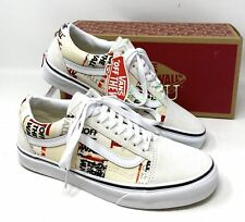 VANS Old Skool Packing Tape Cream White Women's  Sneakers VN0A4U3BWN4