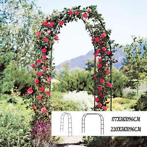 Arch Way Assemble Door Wedding Party Bridal Garden Floral Decor 177/220cm