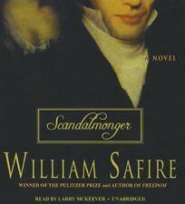 Scandalmonger by William Safire (2013, CD, Unabridged)