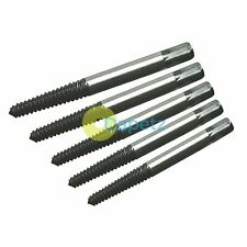 5 Screw Extractor Set Drill Bits Easy Out Guide Broken Damag Screws Bolt Remover