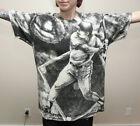 vtg 1990s Baseball tee all over print t shirt Major League sports Reds X large