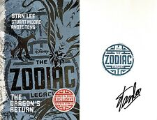 Stan Lee~SIGNED~The Zodiac Legacy: Dragon's Return~BN Exclusive 1st/1st+Photos!