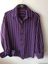 John RICHMOND camicia viola (polsini alla francese) taglia M