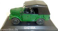 GAZ 69a Camión Verde NUEVO 011 1:43 µ
