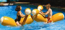 Swimline Pool Joust Set Gladiator PARTY LOGS FLOAT Game Inflatable Australia