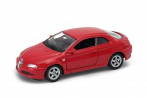 """Alfa Romeo GT Red Welly Collection 52259 1:60 1:64 3"""" inch Toy Car Model"""