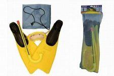 Kids Junior Maschera Boccaglio Pinne Estate Spiaggia Piscina Nuoto Immersione Kit Set