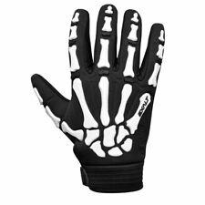 Exalt Death Grip Gloves Full Finger White - Medium - Paintball