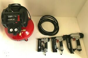 Porter-Cable PCFP3KIT 6 Gal. 150 PSI Portable Electric Air Compressor kit, L.N