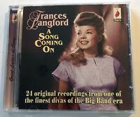 Frances Langford CD Big Band A Song Coming On Originals Flare UK 2010 Import