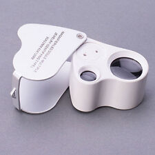 Portable Jewellers Pocket Lens 30X 21mm Loupe Magnifying Eye Glass Magnifier